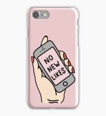 no new likes  iPhone Case/Skin