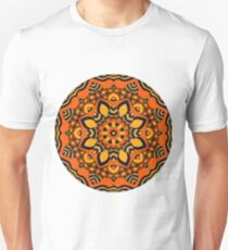Eastern ethnic ornament. Fashion mandala. Unisex T-Shirt