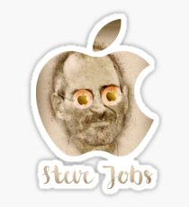 Steve Jobs - Apple Inc. Sticker