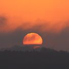 Cotswolds sunset by poohsmate