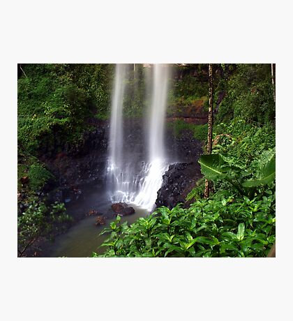 Beautiful Purling Brook Falls  Photographic Print