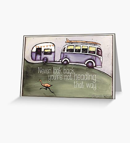 Taking a trip Greeting Card