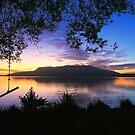 lake tarawera sunrise by rina sjardin-thompson
