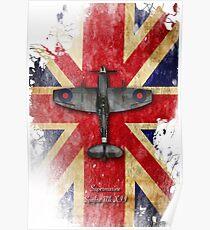 Spitfire Mk.XII Poster
