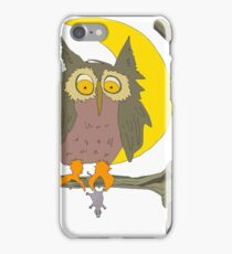 Owl vs. Mouse iPhone Case/Skin