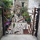A quirky gate!! by poohsmate