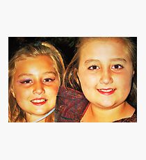 Fab sisters Photographic Print