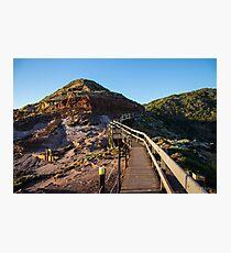 The Cape Schanck Boardwalk, Mornington Peninsula, Victoria, Australia. Photographic Print