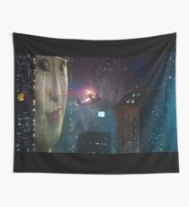 BLADE RUNNER - CLASSIC SKYLINE SCENE Wall Tapestry