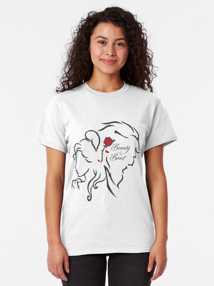Alternate view of Beauty and the Beast Classic T-Shirt