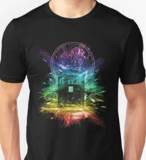 time storm-rainbow version Unisex T-Shirt