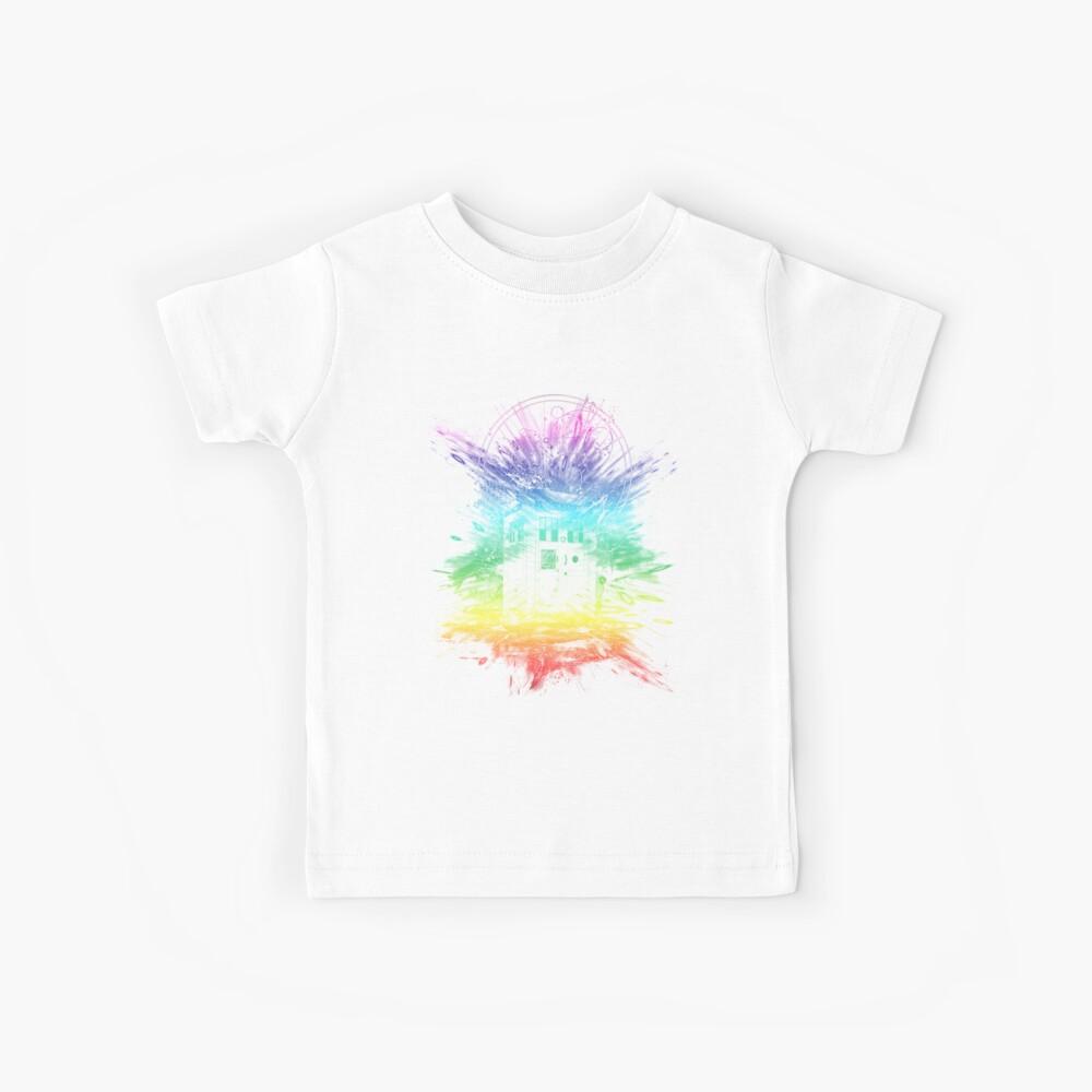 time storm-rainbow version Kids T-Shirt