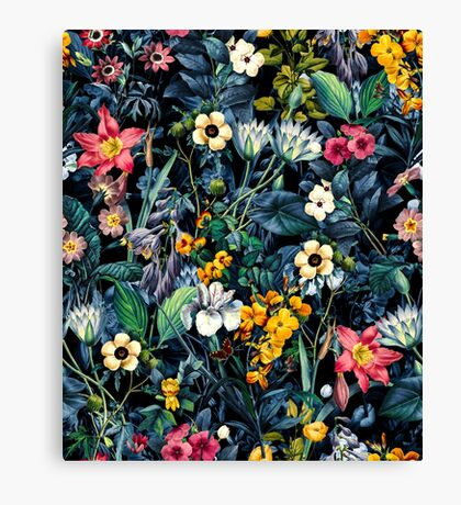 Exotic Garden Canvas Print