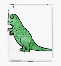 cartoon tyrannosaurus rex iPad Case/Skin