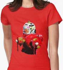Fire Hydrant Womens Fitted T-Shirt