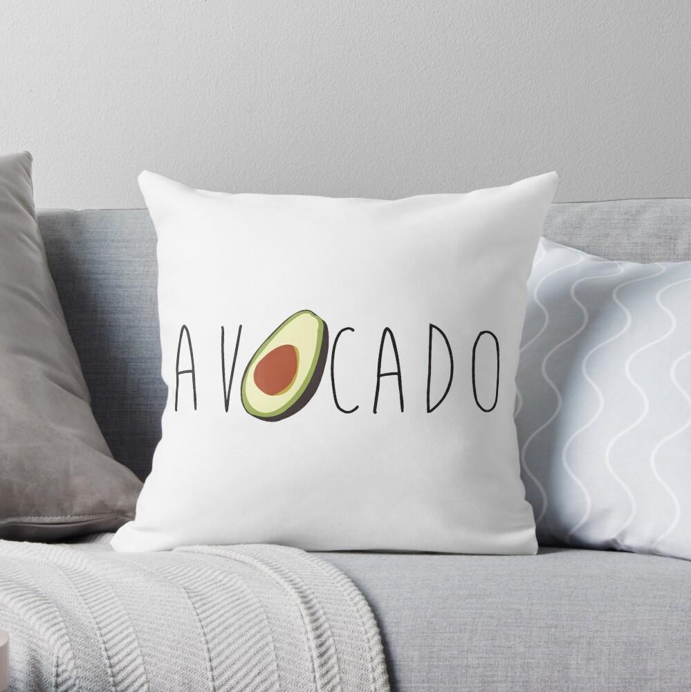 Avocado Dekokissen