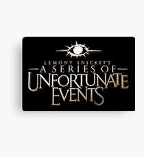 A Series of Unfortunate Events Tv Show Canvas Print