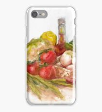 Still life with vegetables iPhone Case/Skin