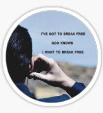 Moriarty. Sticker