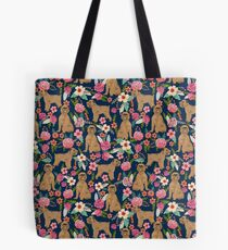 Brussels Griffon florals pattern for dog lovers custom pet friendly gifts for all dog breeds by PetFriendly Tote Bag