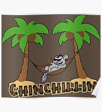Chinchillin Poster