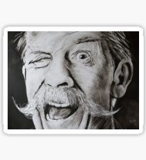 """""""John Hurt - the eye"""" Sticker"""