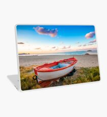 Boat of new year Laptop Skin