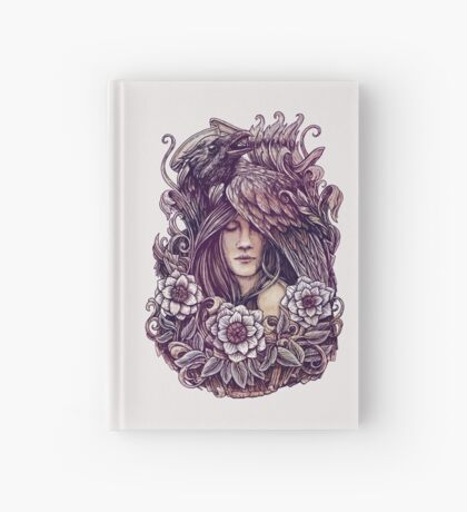 Crow Hardcover Journal