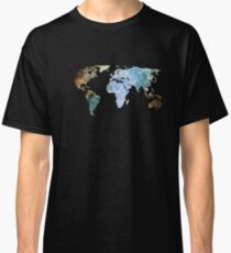 Space Continents Classic T-Shirt