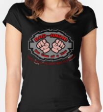 Wreck it ralph Bad Anon Women's Fitted Scoop T-Shirt