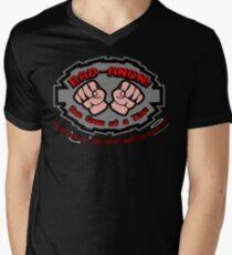 Wreck it ralph Bad Anon Men's V-Neck T-Shirt
