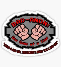 Wreck it ralph Bad Anon Sticker