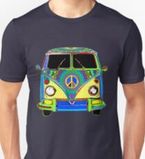 Peace Bus - Psychedelic Unisex T-Shirt