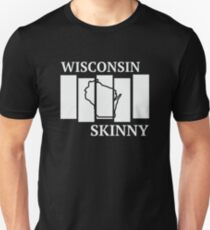 Wisconsin Skinny back in the day Unisex T-Shirt