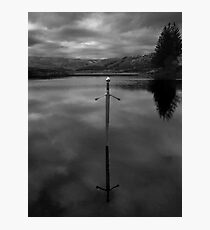 Bruces sword Photographic Print