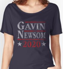 Vote Gavin Newsom 2020 Election  Women's Relaxed Fit T-Shirt