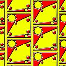 .Pattern B-2. .Scaled 11% - Offset Tiling. by Laerrus