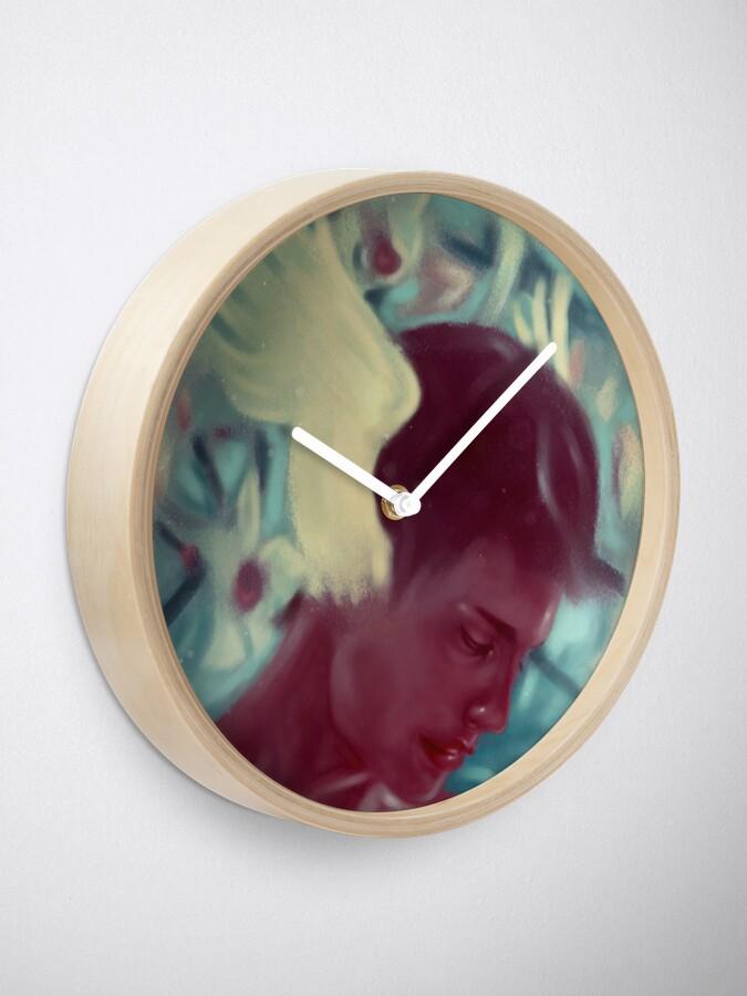 Alternate view of Hermes Clock