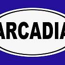 Arcadia California Oval Design by KWJphotoart