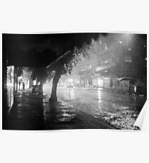 dark and rainy Poster