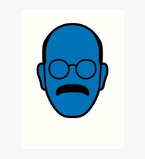 Arrested Development Tobias Blue Man Art Print