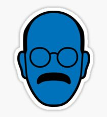 Arrested Development Tobias Blue Man Sticker