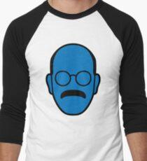 Entwicklung von Tobias Blue Man Baseballshirt für Männer