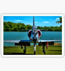 Marines A4L Skyhawk at the Golf Course Sticker