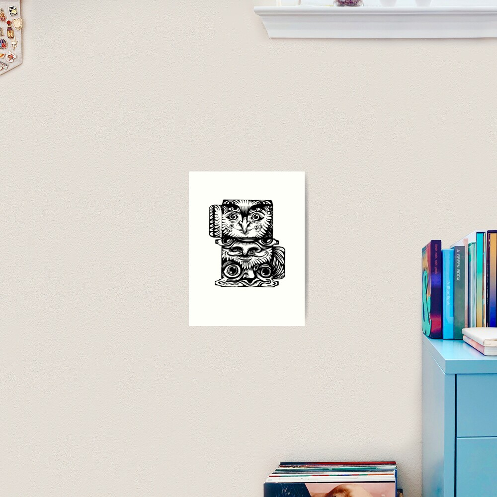 Strange Totem Art Print