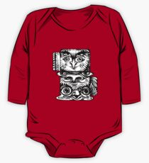 Strange Totem Long Sleeve Baby One-Piece