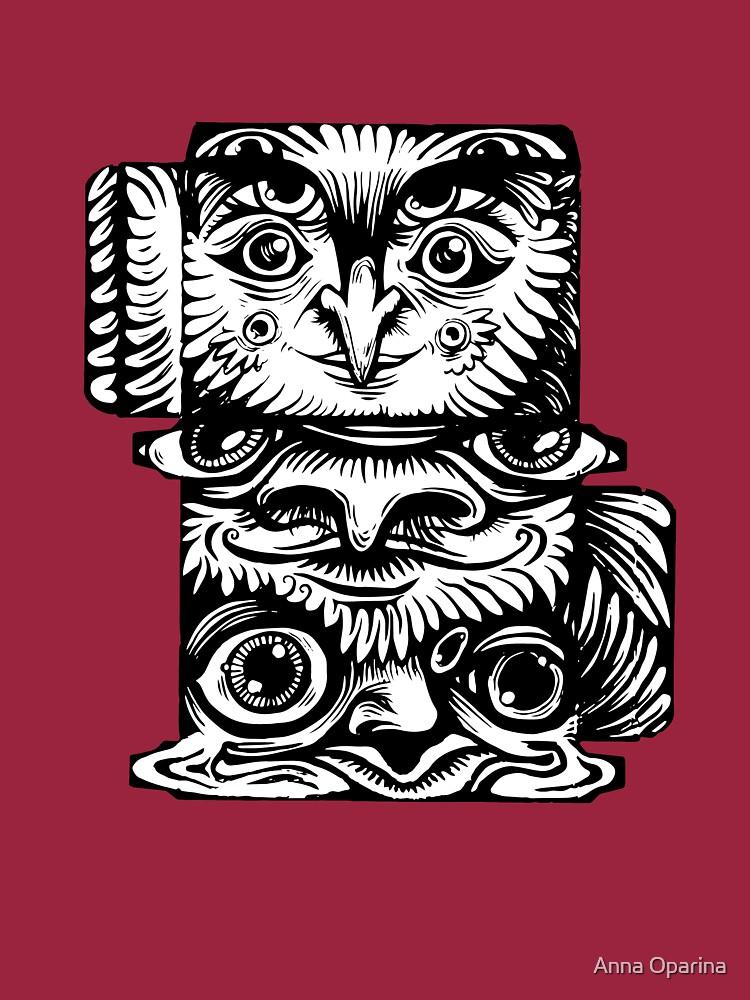 Strange Totem by Oparina