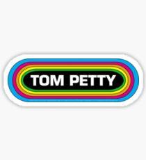 petty tom rainbow Sticker