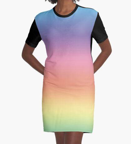 Ombre Pastel by Julie Everhart Graphic T-Shirt Dress