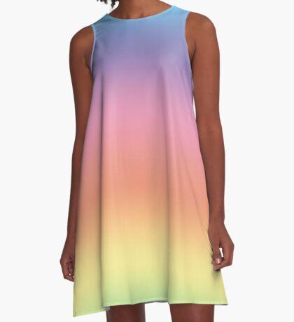 Ombre Pastel by Julie Everhart A-Line Dress